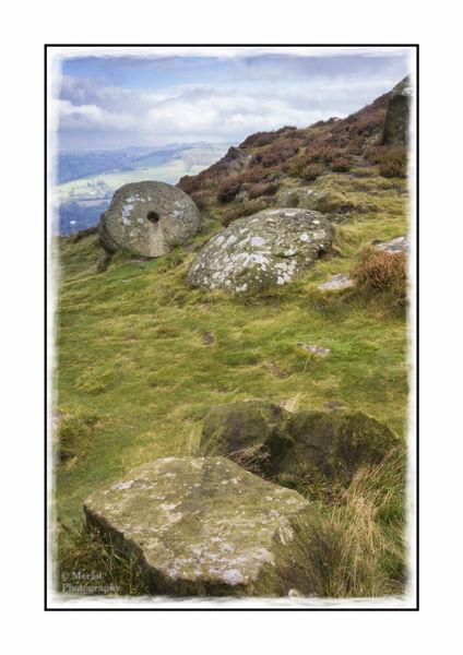 Abandoned Millstone - Curbar Edge