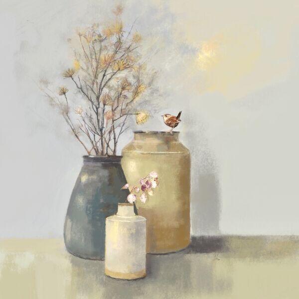 Three Pots & a Wren