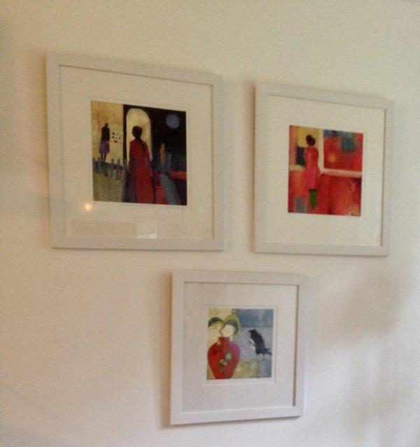 Three Framed Works