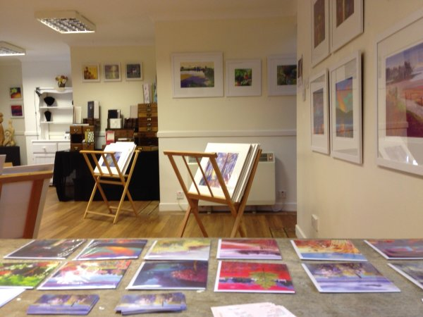 Exhibition at The Studio, Monymusk