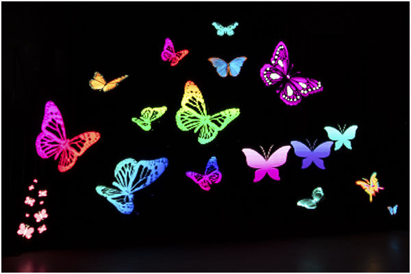 Pixelstick Butterflies
