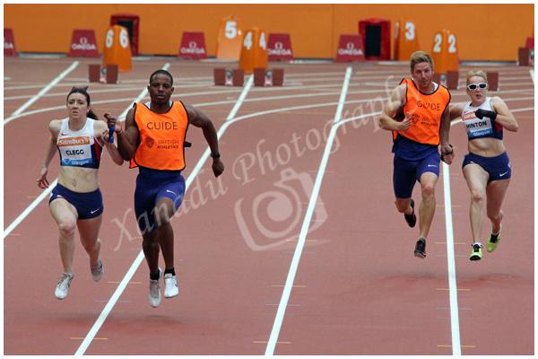 Women's T11-13 100m