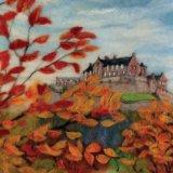 Edinburgh Castle in the Autumn