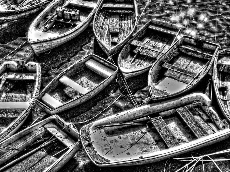 Boats at Mevagissey