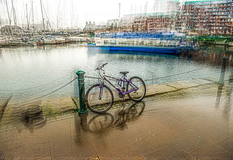 Bike in the Marina