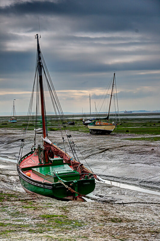 Low Tide at Leigh on Sea