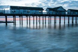 Southwold Pier Legs