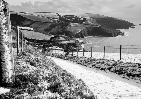 Winter, Talland Bay