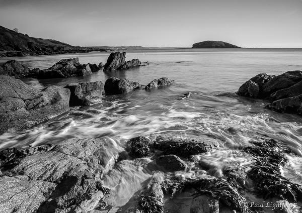 Looe Island from Port Nadler