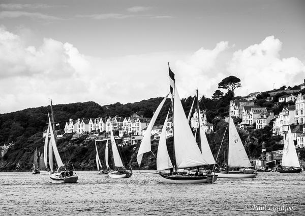 Classic sailing boats, Fowey