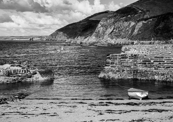 The harbour, Portwrinkle