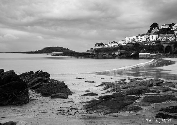 Low tide on the beach, Looe