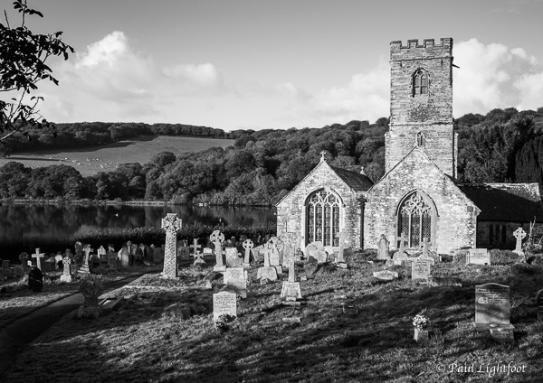 St Winnow church on the Fowey estuary