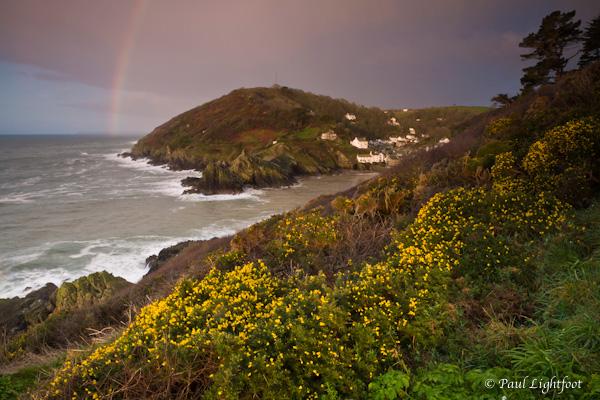 Polperro rainbow