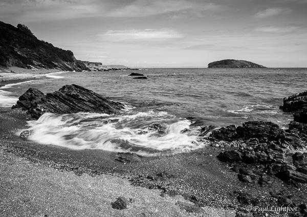 Swirling waves, Port Nadler beach
