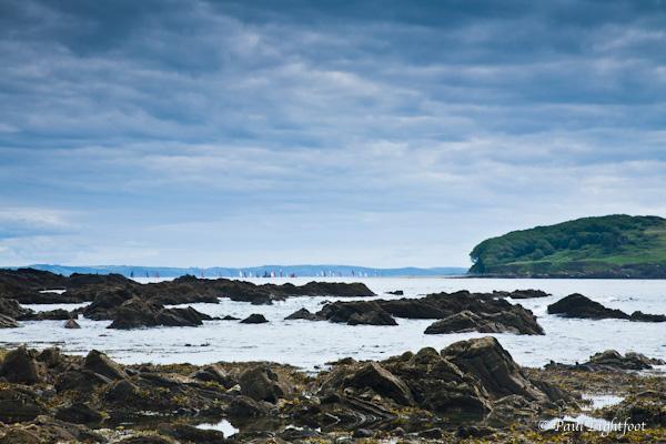 Port Nadler, Looe Island and luggers