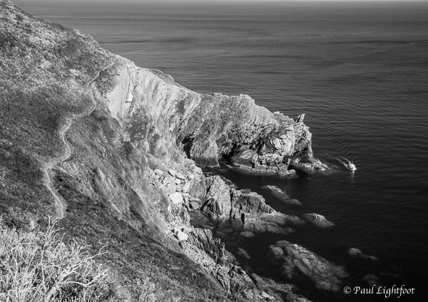 Coastal footpath above Nealand Point