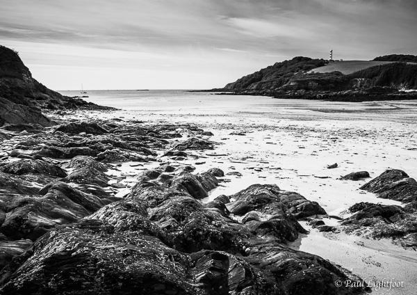 Polridmouth (Pridmouth) beach and Gribbin Head