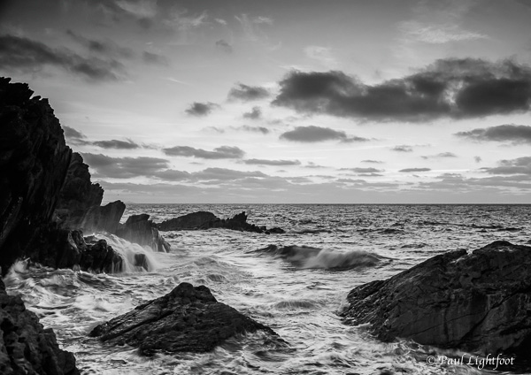 Dawn at Chapel Cliffs, Polperro