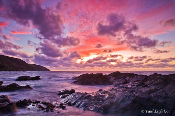 Dawn, Lantivet beach