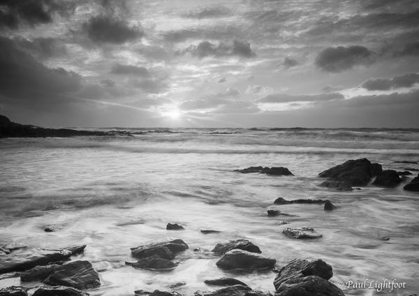 Winter dawn, Talland, 1