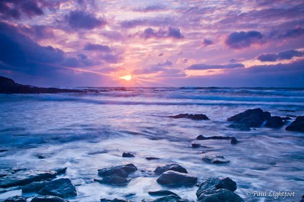 Talland sunrise-2