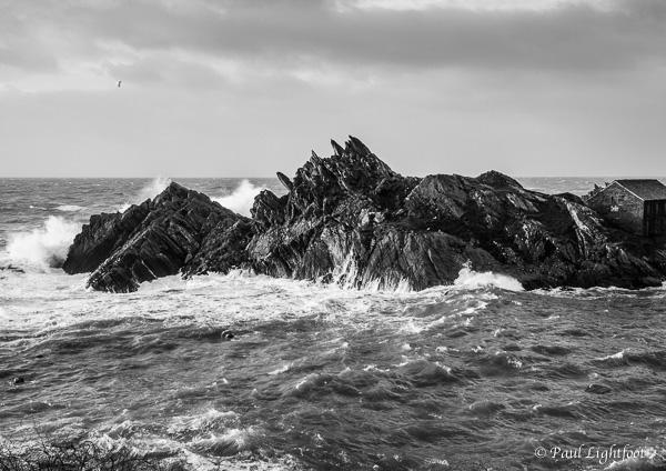 Storm, Peak Rock, Polperro
