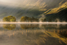 Misty reflections of Buttermere