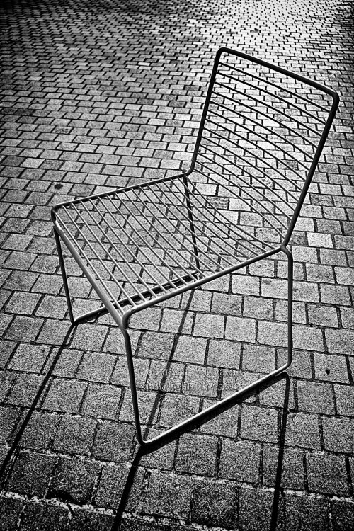 Chair at the Museum of Liverpool cafe