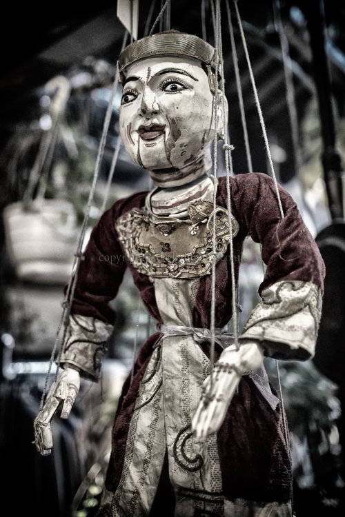 Scary Puppet