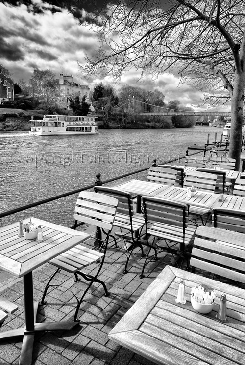River Dee at The Moorings, Chester