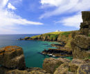 Lizard Lighthouse, Housel Bay, Lizard Peninsula, England, UK.