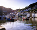 The Harbour, Polperro, Cornwall, England, UK.