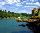 Dartmouth And Kingswear Castles, River Dart, Dartmouth, Devon, England, UK.