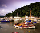 The Harbour, Minehead, Somerset, England, UK.
