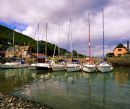 The Harbour, Porlock Weir, Porlock, Somerset, England, UK.