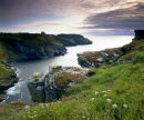 Barras Nose, Tintagel Head, North Cornwall, England, UK.