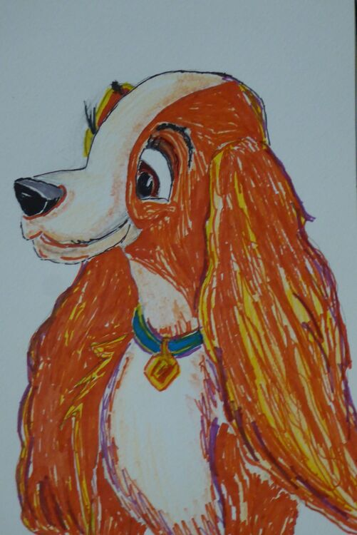 Lady from (Lady and the Tramp)