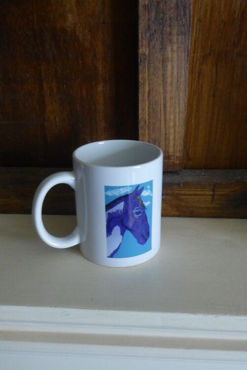 Native American Horse Mug