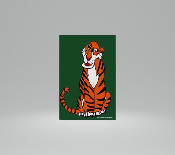 Digital Drawing of Shere Khan