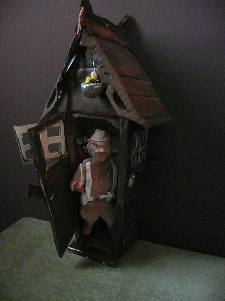 Grandpa Potts in Hut