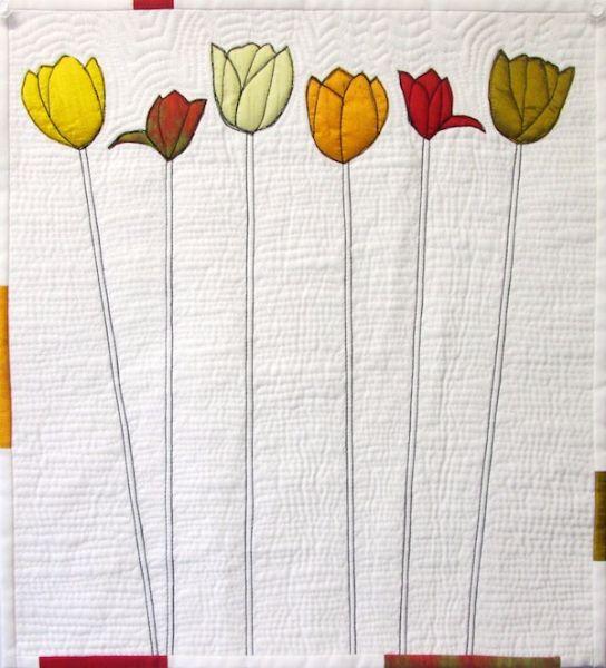 Long stemmed tulips