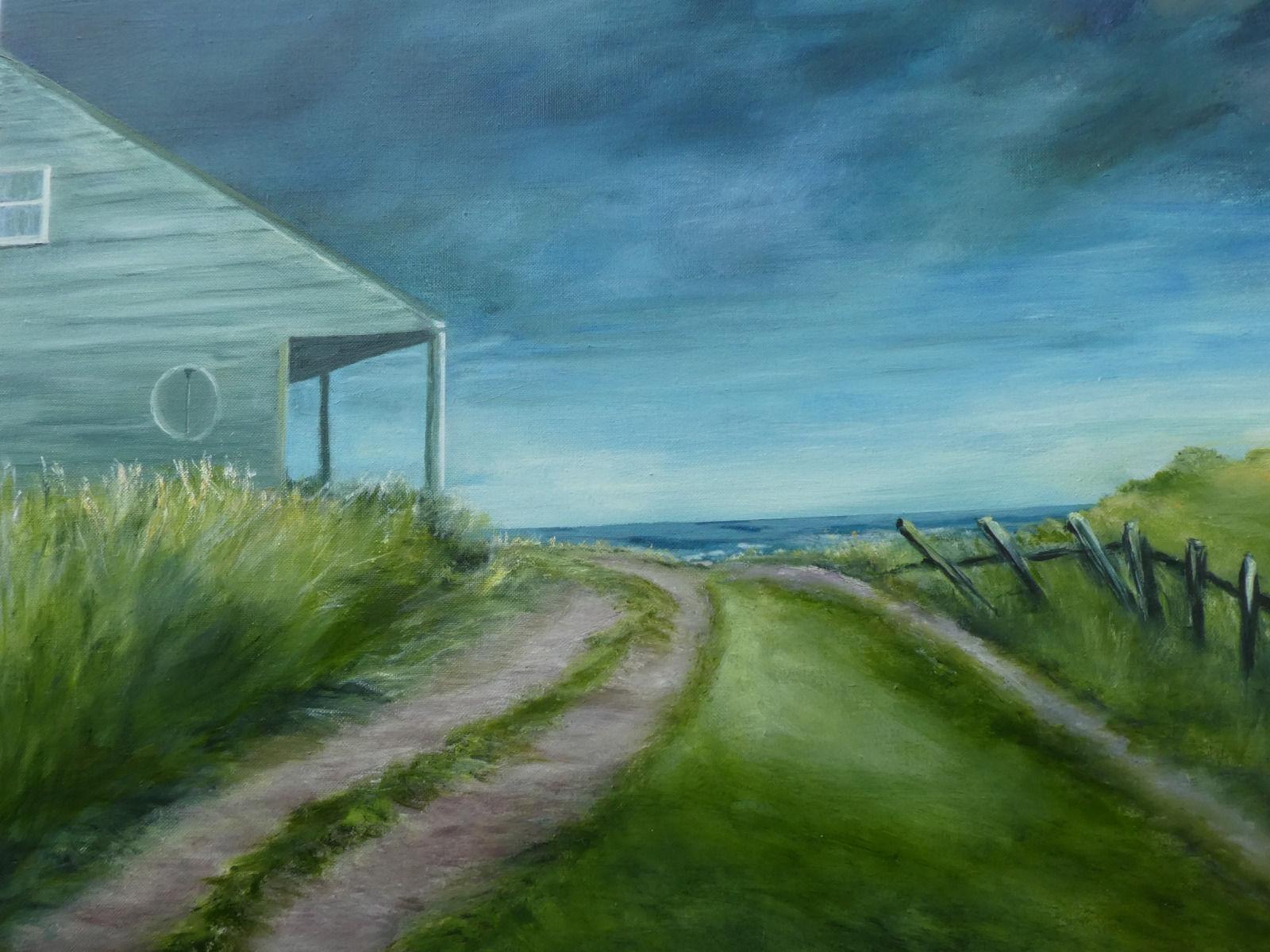 House on the edge (80 x 60)