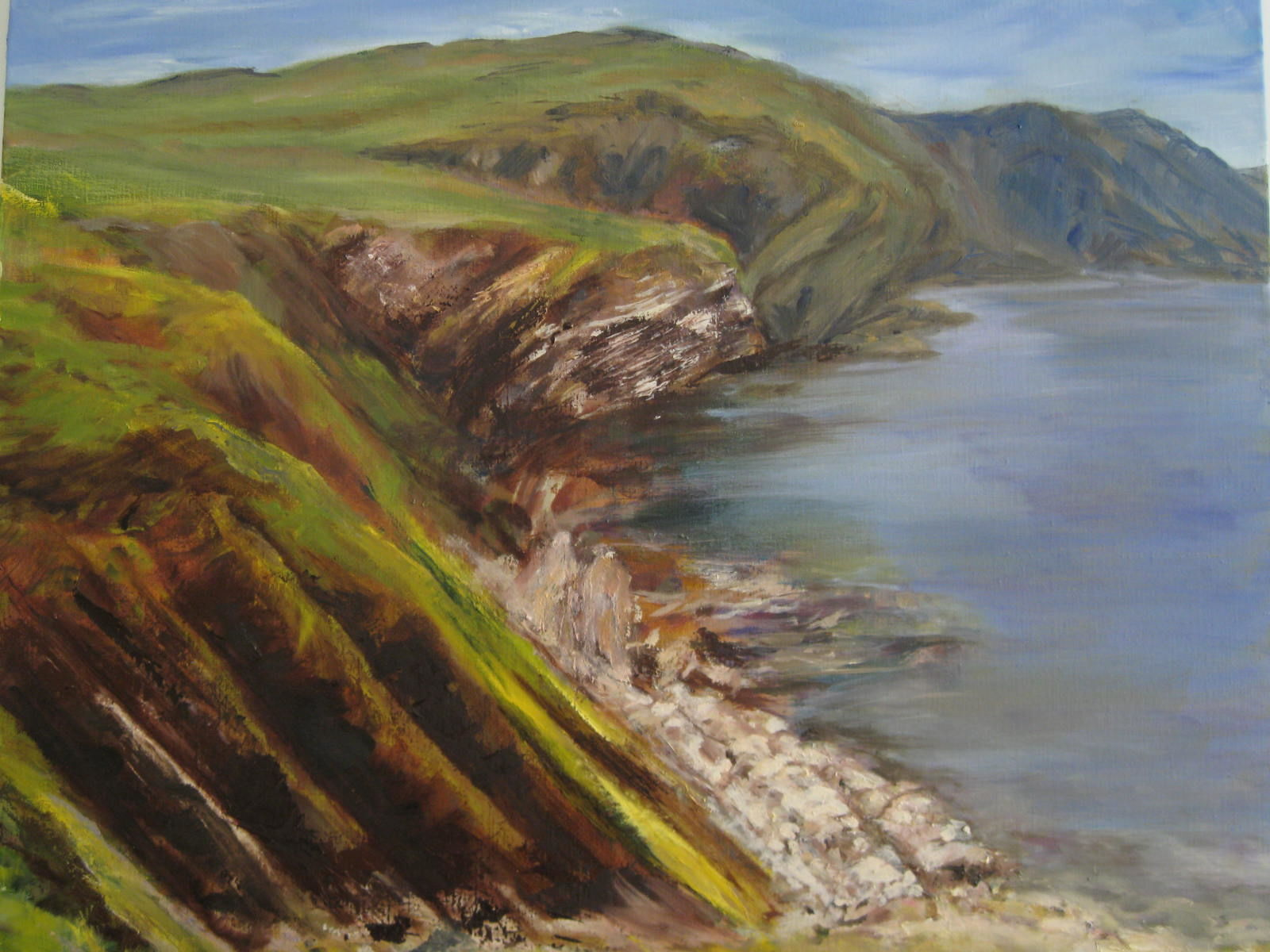 St Abbs Head light (67cm x 80cm)