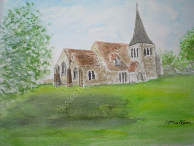 All Saints Church, Herstmonceux