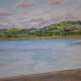 View over Arlington Reservoir, East Sussex