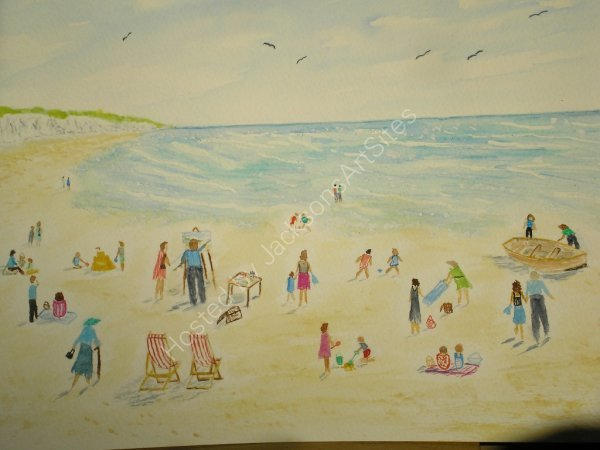 An Artist's Day at the Seaside