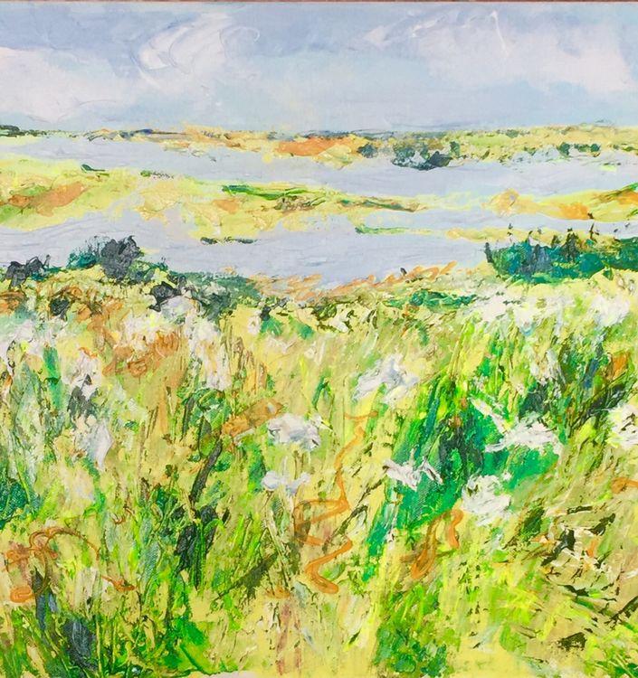 Flood tide on the marsh