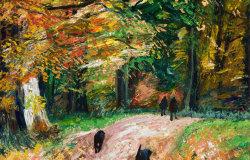 October walk in Sheringham Park