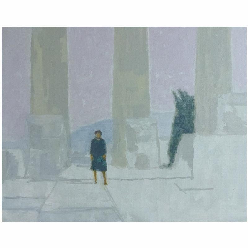 Woman at the Parthenon